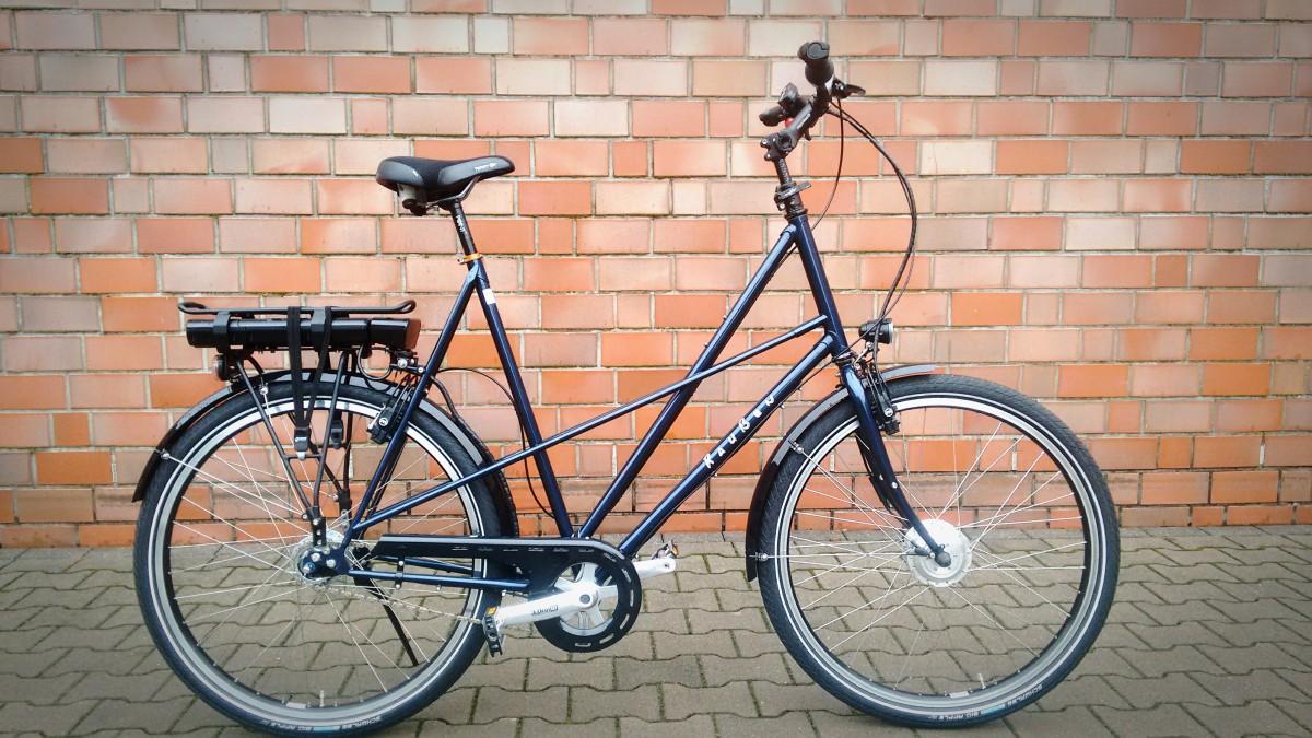 Raußen R3, E-bike | Rahmenhöhe 68 cm | blau| Ansmann Motor