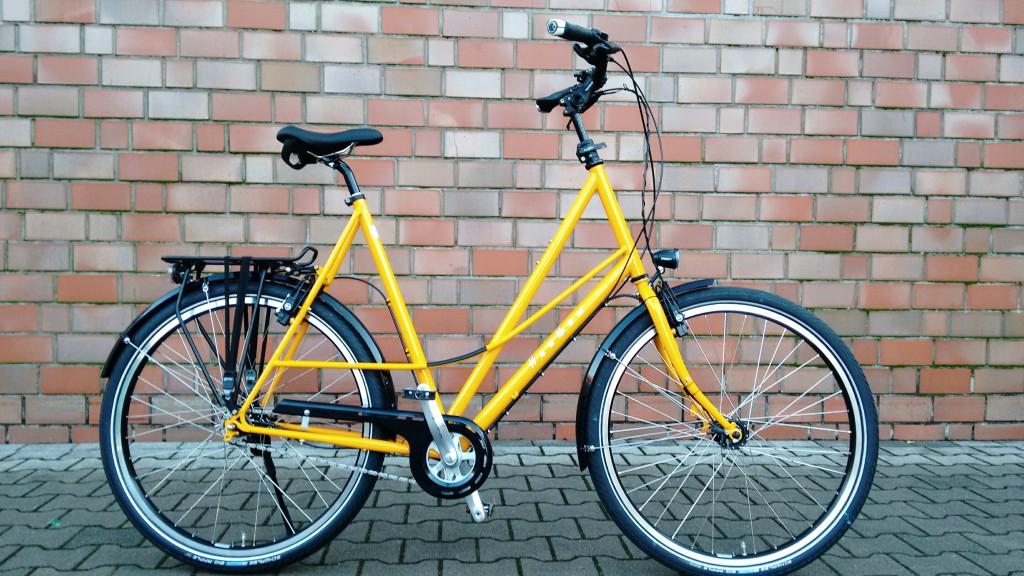 Raußen R4, | Rahmenhöhe 73 cm| gelb|