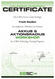 Zertifikat EBSC