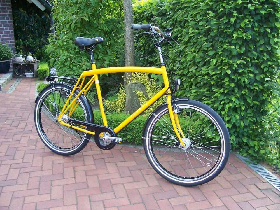 Raußen R1, | Rahmenhöhe 68 cm| gelb