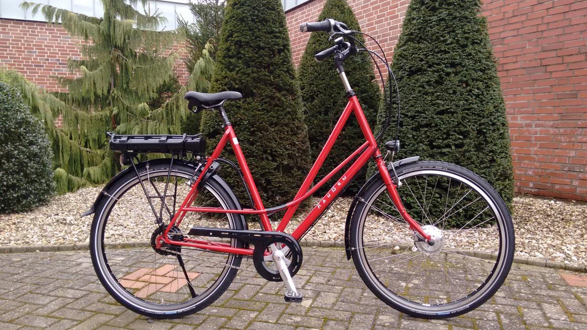 Raußen R4, E-bike | Rahmenhöhe 66cm | rot| Ansmann Motor