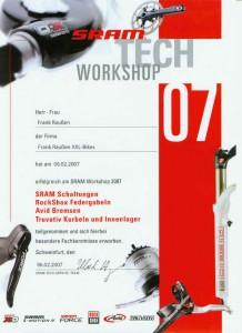 Sramtech Workshop 2007