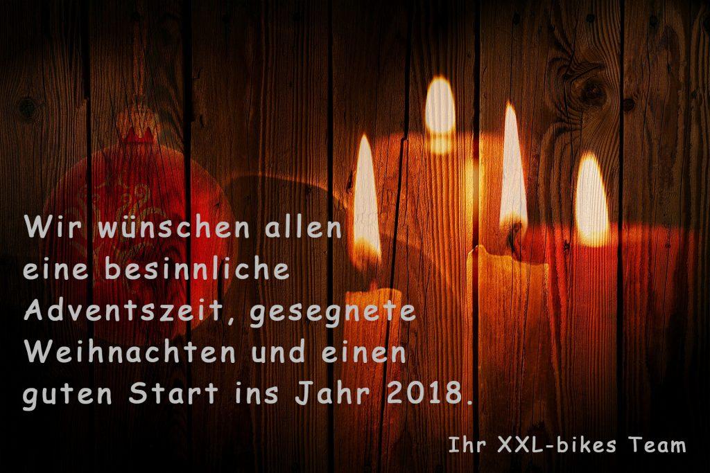 XXL-bikes Weihnachtsgruesse 2017