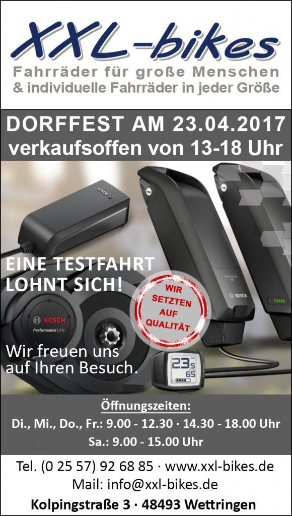 Wettringer Doffest 23.04.2017