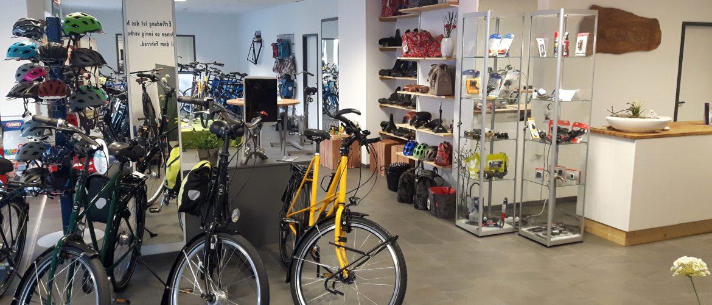 XXL-bikes Ladenlokal Innenansicht