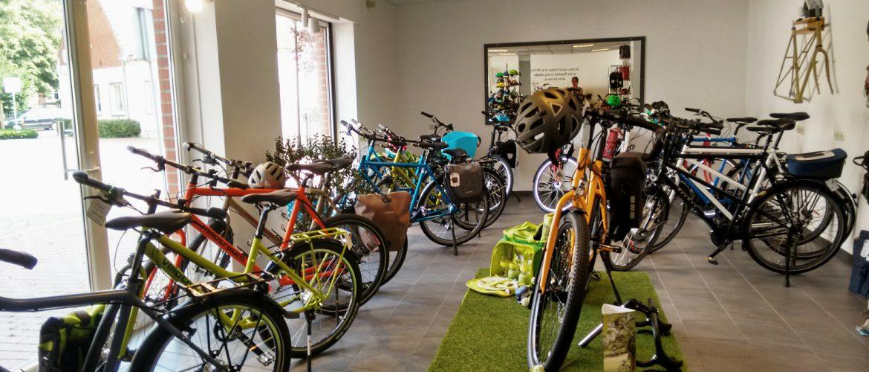 XXL-bikes Wettringen - Ausstellung