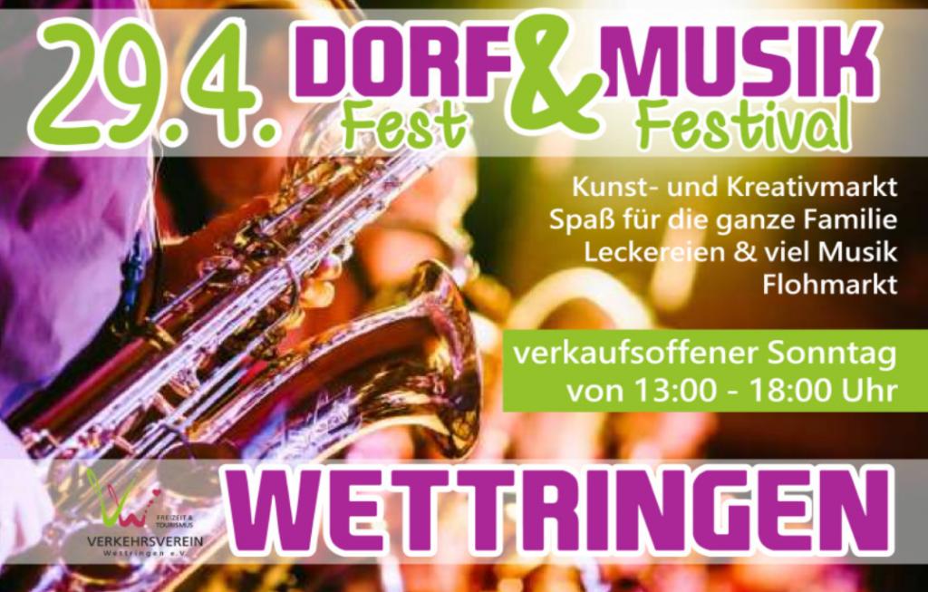 Wettringer Dorffest 2018