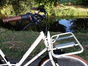 Raußen R2   E-bike   Rahmenhöhe 58 cm   elfenbein matt   Ansmann Motor
