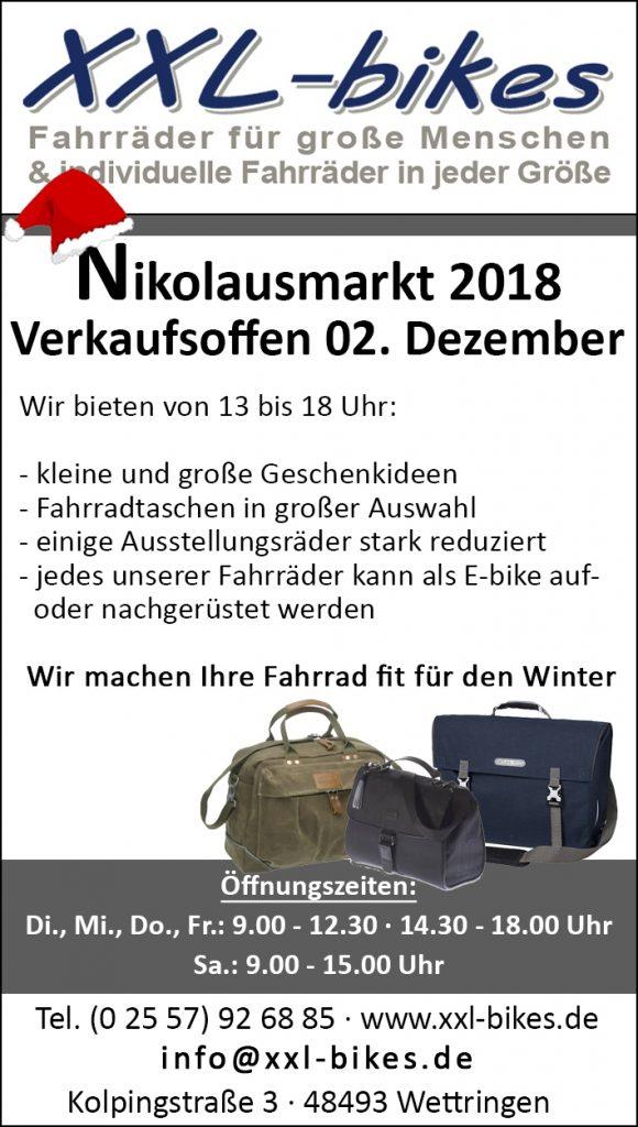 Nikolausmarkt in Wettringen am 02.12.2018