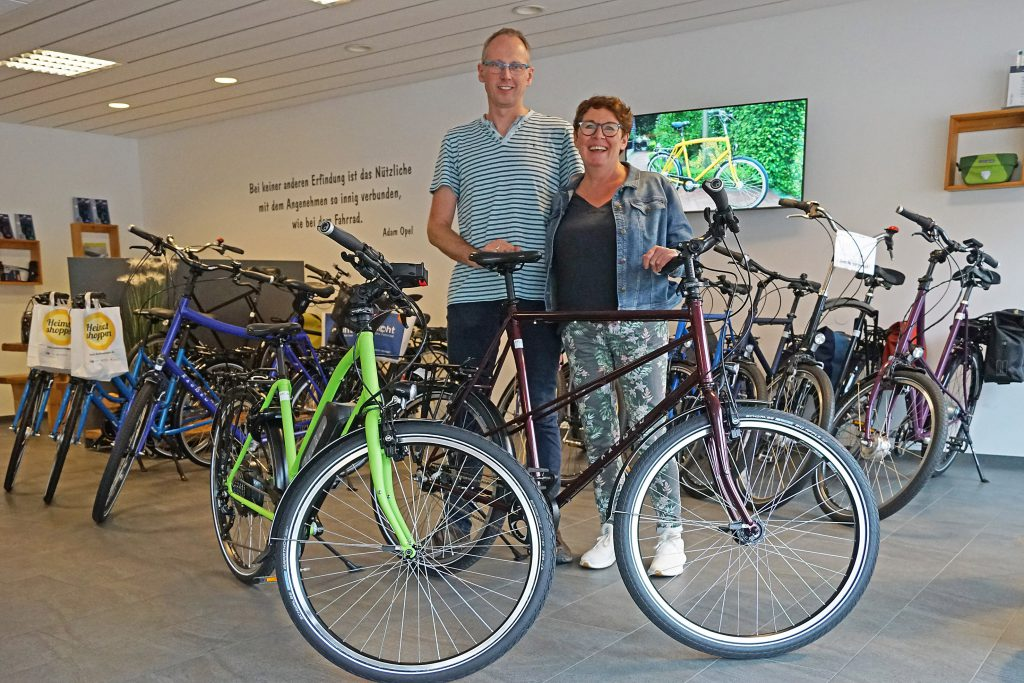 XXL-bikes / Ruth und Frank Raußen